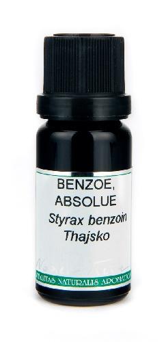 NOBILIS TILIA Éterický olej Benzoe Absolue 50% Objem 10 ml, fialové sklo