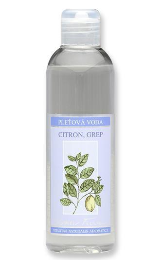 NOBILIS TILIA Pleťová voda Citron Grep Objem 200 ml