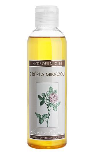 NOBILIS TILIA Hydrofilní mycí olej s Růží a Mimozou Objem 200 ml