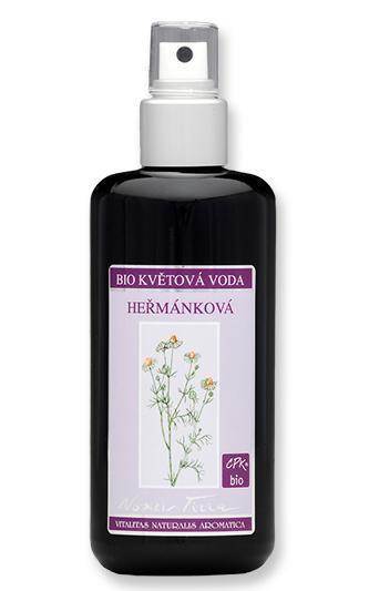 NOBILIS TILIA Květová voda Heřmánková Objem 50 ml, fialové sklo