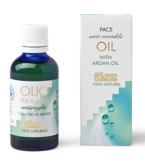 ARGITAL Arganový pleťový olej proti vráskám Objem 50 ml