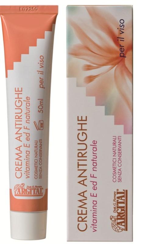 ARGITAL Krém proti vráskám s přírodními vitamíny E a F Objem 50 ml