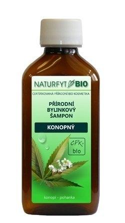 NATURFYT Přírodní BIO šampon konopný BIO Objem 200 ml
