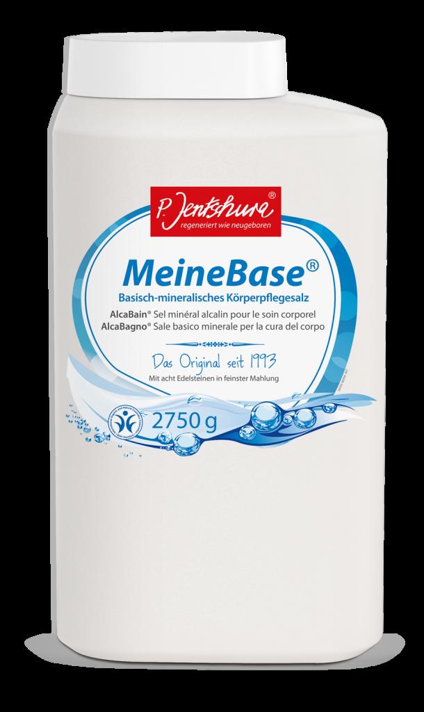 JENTSCHURA P. MeineBase zásadito-minerální koupelová sůl Objem 2750 g