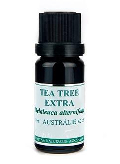 NOBILIS TILIA Éterický olej Tea Tree Extra (Čajovník) Objem 10 ml, fialové sklo