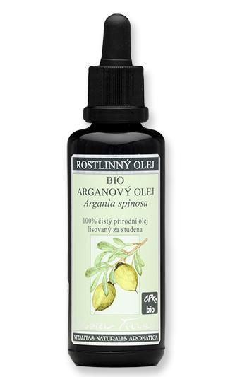 NOBILIS TILIA Arganový olej BIO Objem 100 ml, fialové sklo