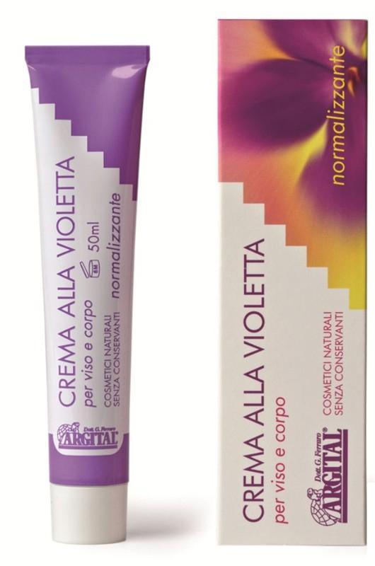 ARGITAL Vyrovnávací krém na dermatitidu s violkou Objem 50 ml