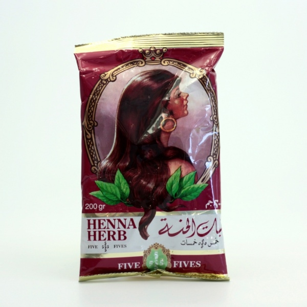 FIVE FIVES Henna Herb Lamda čistá Objem 200 ml