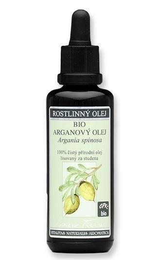 NOBILIS TILIA Arganový olej BIO Objem 20 ml, fialové sklo