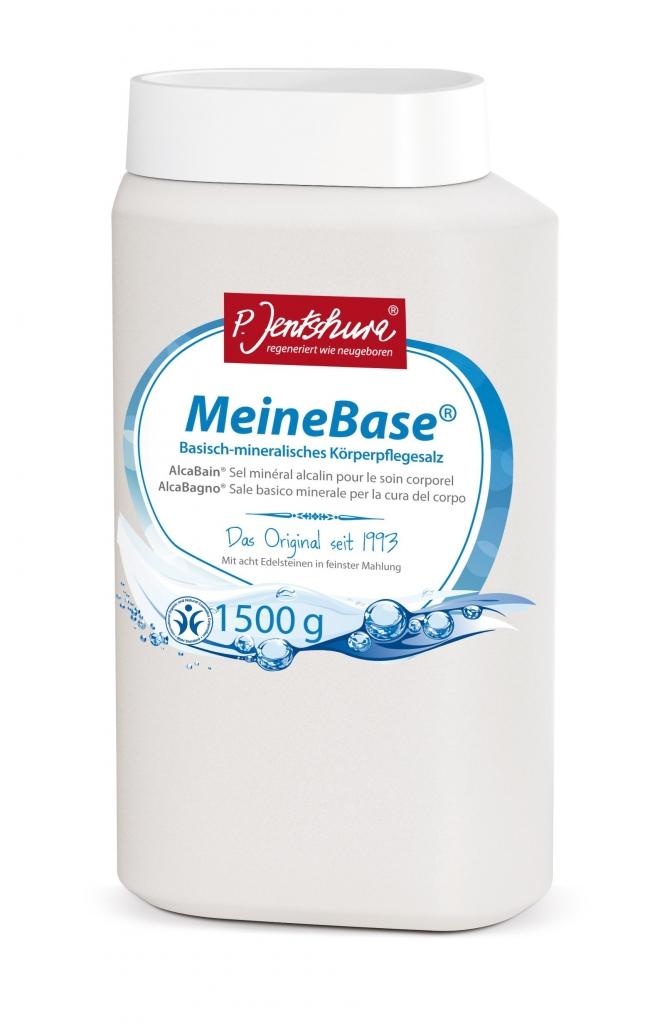 JENTSCHURA P. MeineBase zásadito-minerální koupelová sůl Objem 1500 g