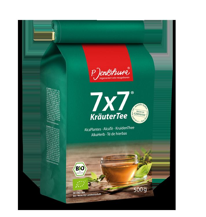 JENTSCHURA P. KräuterTee bylinný čaj BIO Objem 500 g