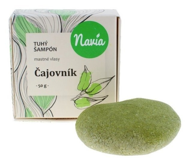 NAVIA Tuhý šampon na mastné vlasy s Čajovníkem XL Objem 50 ml