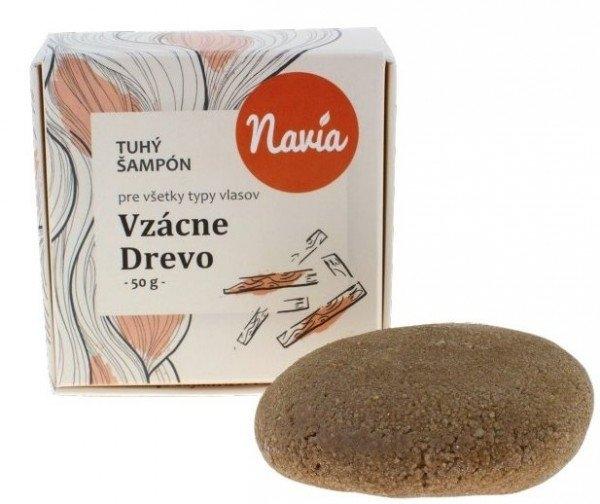 NAVIA Tuhý šampon vzácné dřevo XL Objem 50 ml