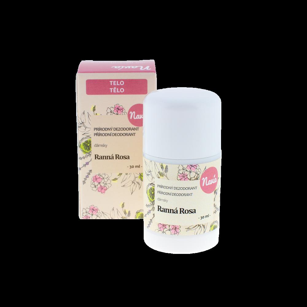NAVIA Tuhý Deodorant Dámský Ranní rosa Objem 30 ml